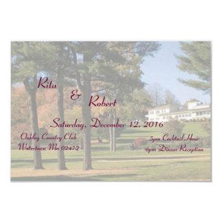Custom Signature Wedding Invitation