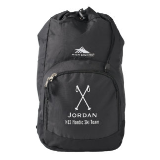 Custom Skiing Nordic Alpine Ski Pole Ski Team Backpack