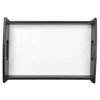 Custom Small Serving Tray (Black)