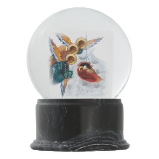 Custom Snowglobe with Nativity Christmas Icon Snow Globes
