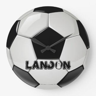 Custom Soccer Ball Clock