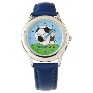 Custom Soccer Boy Watch