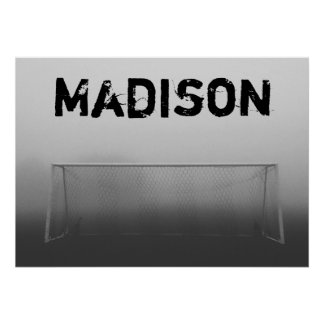 Custom Soccer (Football) Poster