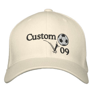 Custom Soccer Hat For Coach, For Team or Player!! Baseball Cap