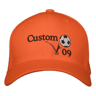 Custom Soccer Hat For Coach, Player & The Team! Embroidered Baseball Cap