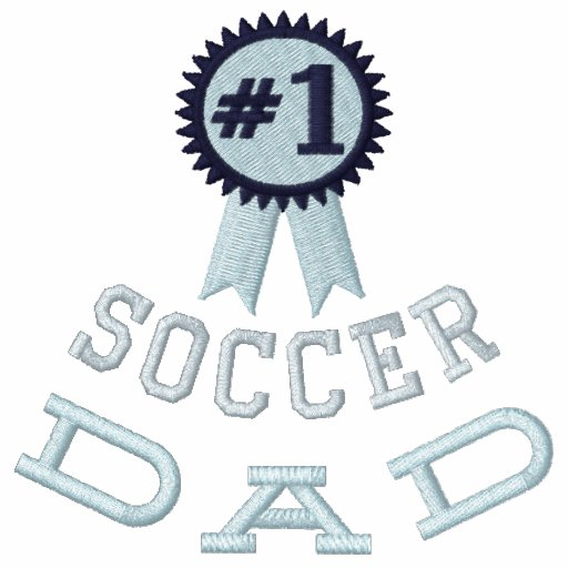 Custom Soccer OR (Your Text)  Dad