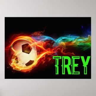 custom soccer poser kids will love poster