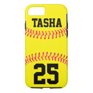 Custom Softball iPhone 7 Case