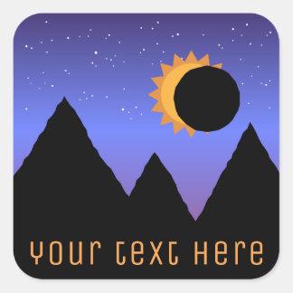 Custom Solar Eclipse 2017 Stickers