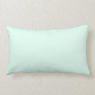 Custom Solid Light Mint Green Color Cushions