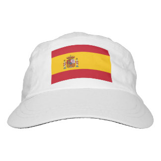 Custom Spanish flag hat | Knit or woven sports cap