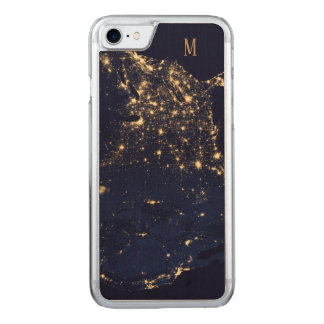 Custom Sparkling Starts beautiful fashion style Carved iPhone 8/7 Case