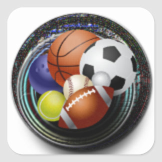 Custom Sports Stickers Gifts