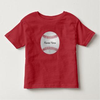 Custom Sports Theme Baseball Add Your Name Tshirts