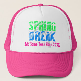 Custom Spring Break Trucker Hat