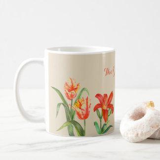 Custom Spring Flowers Mug