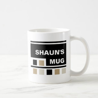 Custom Square design Mug