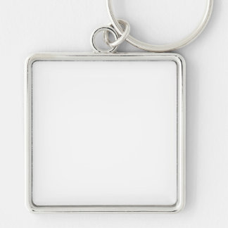 Custom Square Keychain