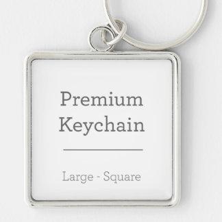 Custom Square Keychain