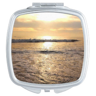 Custom Square Photo Compact Mirror Add Your Image