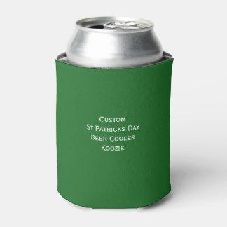 Custom St Patricks Day Green Beer Cooler