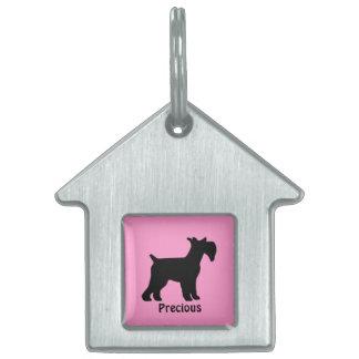 Custom Standard Schnauzer Dog Tag