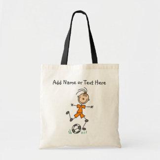 Custom Stick Girl Soccer Player  Bag