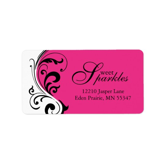 Custom Stylish Address Labels