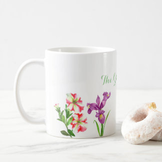 Custom Summer Flowers Collection Mug