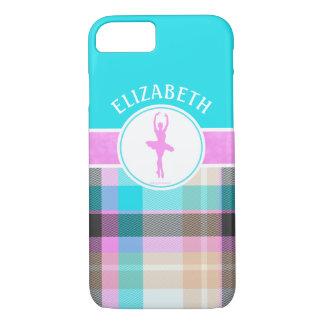 Custom Summer Tartan Dancer Golly Girls iPhone 7 Case