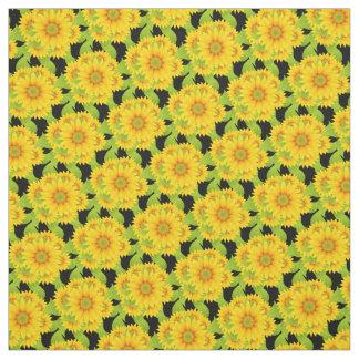 Custom Sunflowers Fabric
