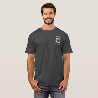 "Custom SV Sailing Vessel Logo ""Your Name Here"" T-Shirt"