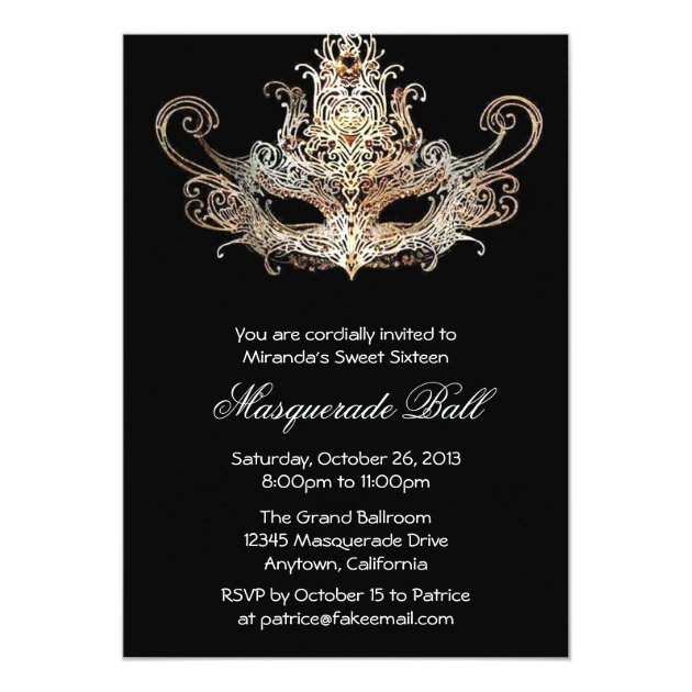 Ball Invitations