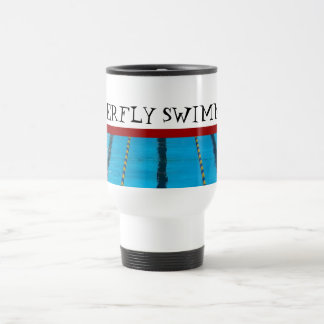 Custom Swimming Travel Mug