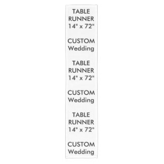 """Custom Table Runner 14"""" x 72"""""""