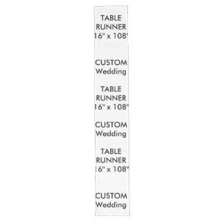 """Custom Table Runner 16"""" x 108"""""""