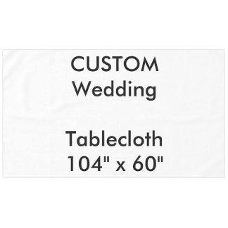 "Custom Tablecloth 104"" x 60"""