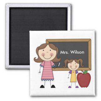Custom Teacher Gift Refrigerator Magnet