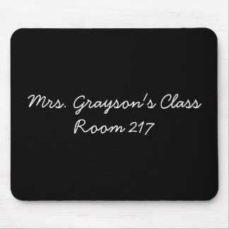 Custom Teacher Name Personalized Teacher Gift Mouse Pad