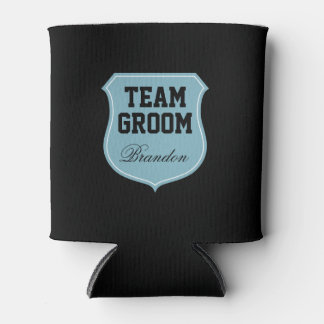 Custom Team Groom can coolers for wedding party