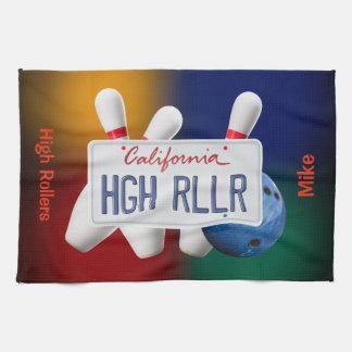 Custom Team Name Bowling Towels