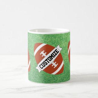 Custom Team Name Football Fan or Coach Coffee Mug
