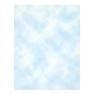 Custom Template: Blue Sky With Clouds 21.5 Cm X 28 Cm Flyer