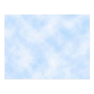 Custom Template: Blue Sky With Clouds Postcard