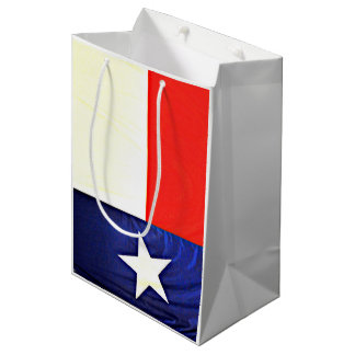 Custom Texas Flag Matte Gift Bag