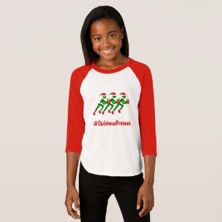 Custom text christmas runners T-Shirt
