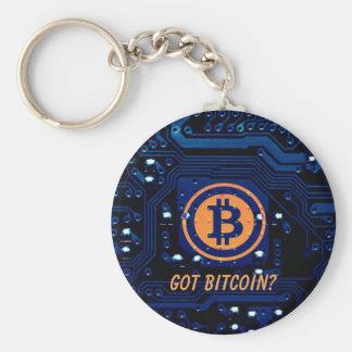 Custom Text Got Bitcoin? Cryptocurrency Keychain