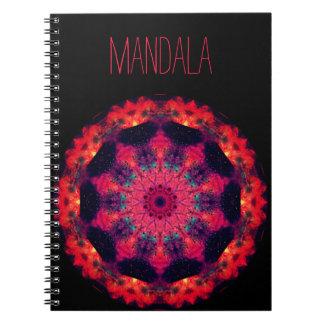 Custom Text Mandala Notebooks
