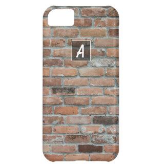 Custom Textured Brick iPhone 5C Case