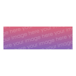 Custom Thank You Photo Bookmark w Emerson Quote Business Card Template